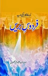 Firdous e bareen by Abdul Haleem Sharar - Firdaus e Bareen by Abdul Haleem Sharar