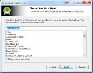 Install aplikasi secara otomatis langsung masuk ke program files drive c