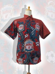 baju batik bola liverpool
