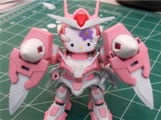Hello Kitty 3D Gundam