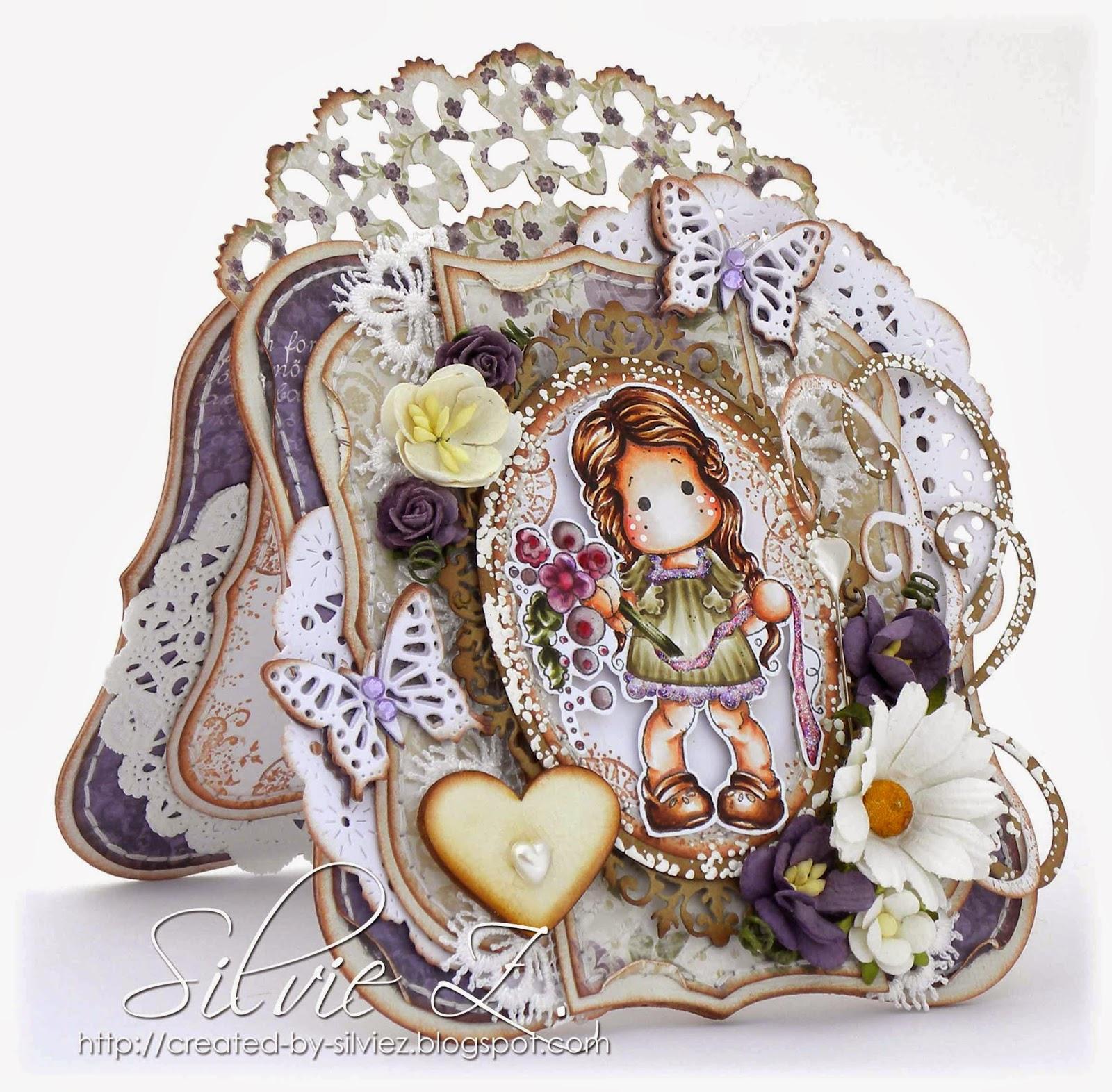 Created By Silvie Z Magnolia Tilda Binding Flowers