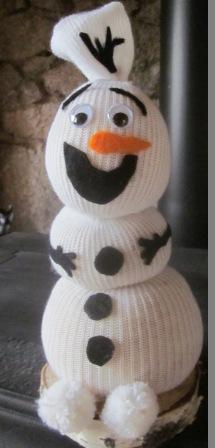 La petite maison de sylvie bonhomme de neige olaf - Bonhomme de neige olaf ...