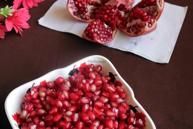 How to de seed Pomegranates
