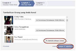 Cara Membuat Facebook / FB Baru + Gambar 7