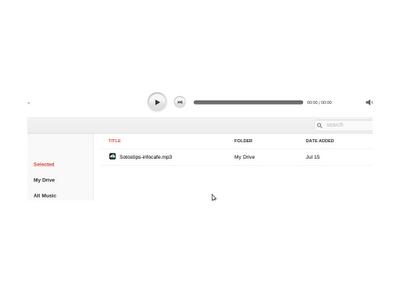 DriveTunes music player Για GDrive