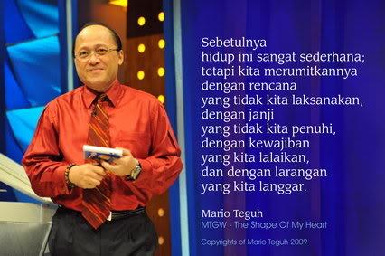 Mario Teguh on Kata Motivasi Mario Teguh Bbm  Dp Blackberry Tentang Kehidupan   Dp