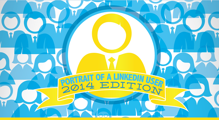 Portrait of a LinkedIn User 2014 Edition - infographic
