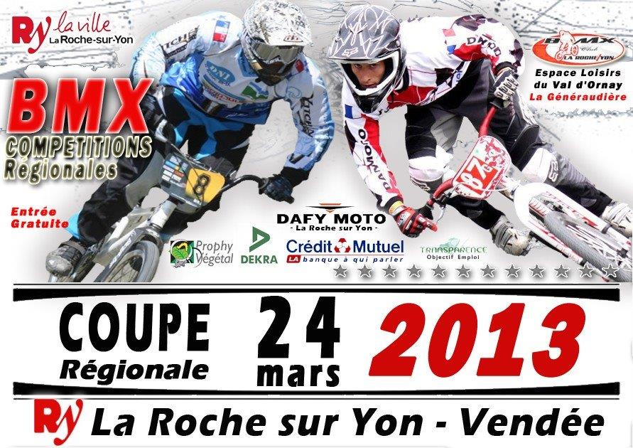 machecoul bmx club r gionale de la roche sur yon 24 mars 2013. Black Bedroom Furniture Sets. Home Design Ideas