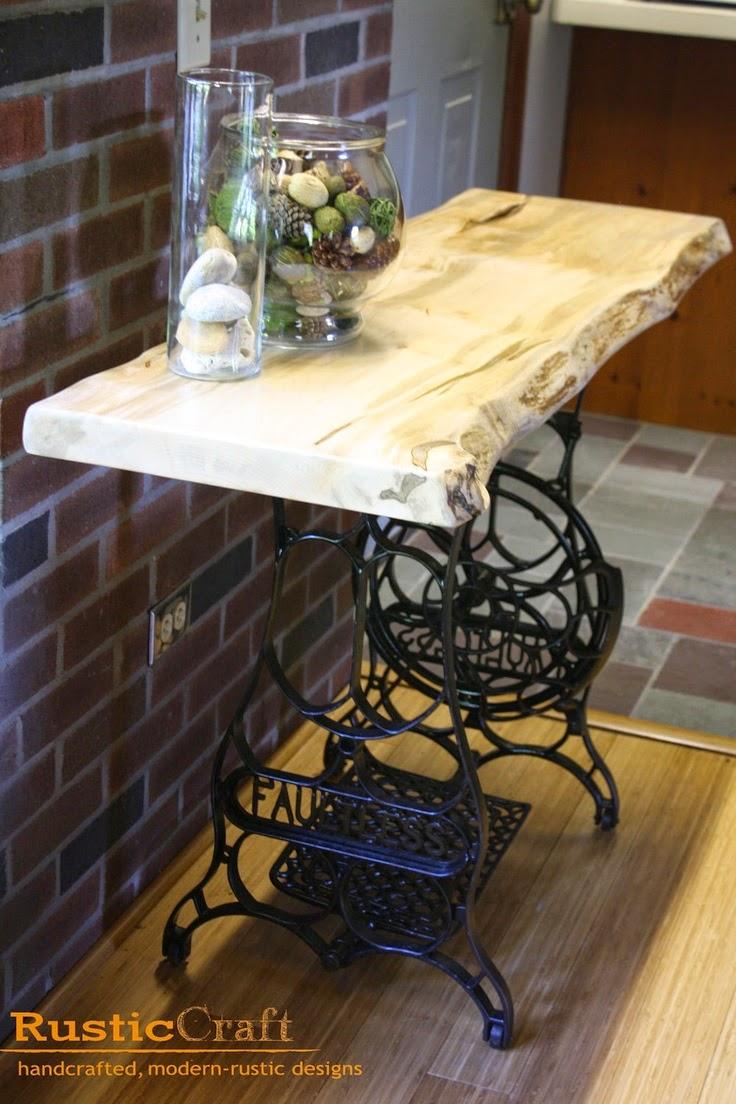 La buhardilla decoraci n dise o y muebles reutilizando - Mesas de recibidor antiguas ...