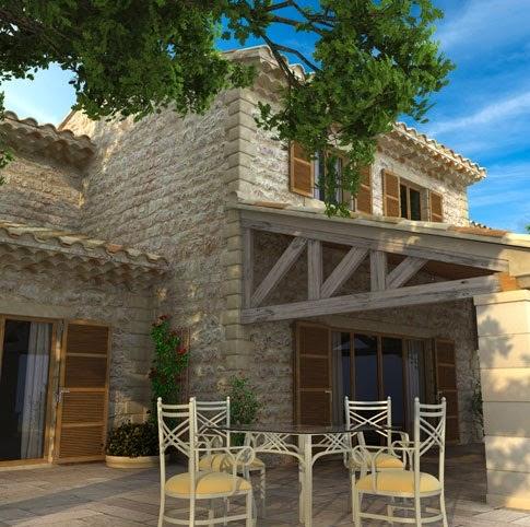 Fachadas de piedra fachadas de casas en piedra y ladrillo for Fachada de ladrillo