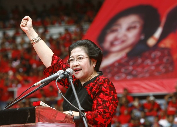 Megawati Dukung Pdip untuk Djarot Jadi Kepala Daerah Sumut