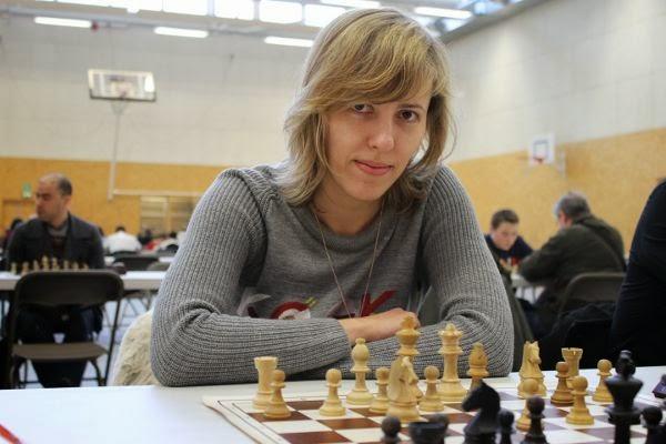 Tatiana Kostiuk au tournoi d'échecs de Vincennes © Chess & Strategy