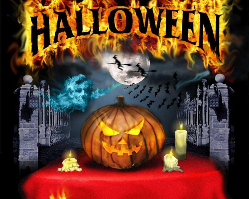 Feliz Halloween Día de Brujas