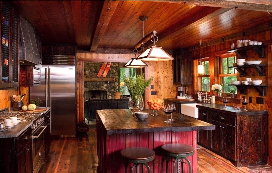 Cocinas Camperas Rusticas. Beautiful Finest Perfect Elegant Cocinas ...