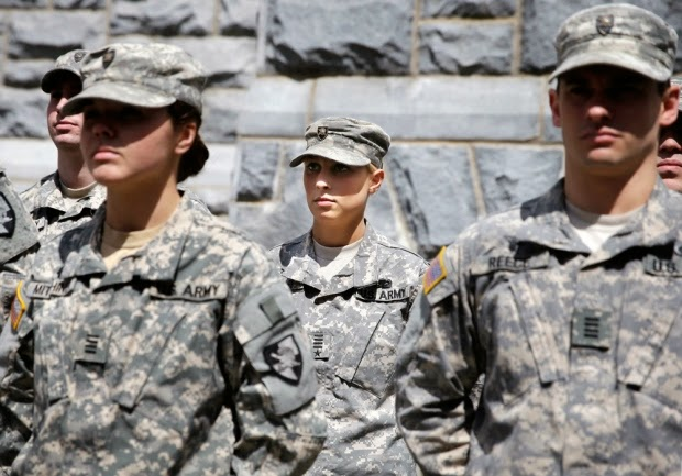 Military News - West Point works to boost female cadet numbers