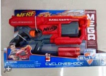 Southern brisbane nerf club mega cycloneshock box art and more pics