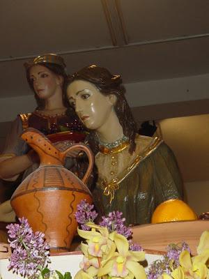 Unción de Jesús en Betania. Cieza (MURCIA)