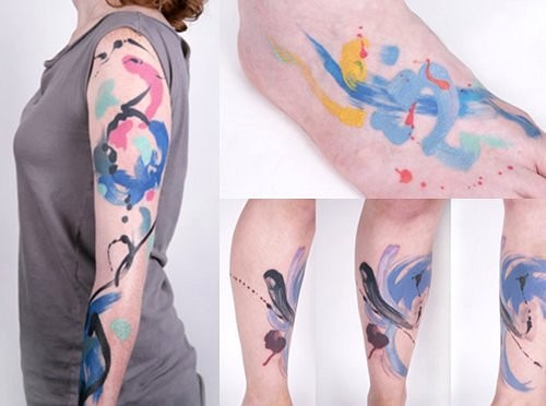 Few Of The Many Stunning Watercolor Tattoos By Artist Amanda Wachob