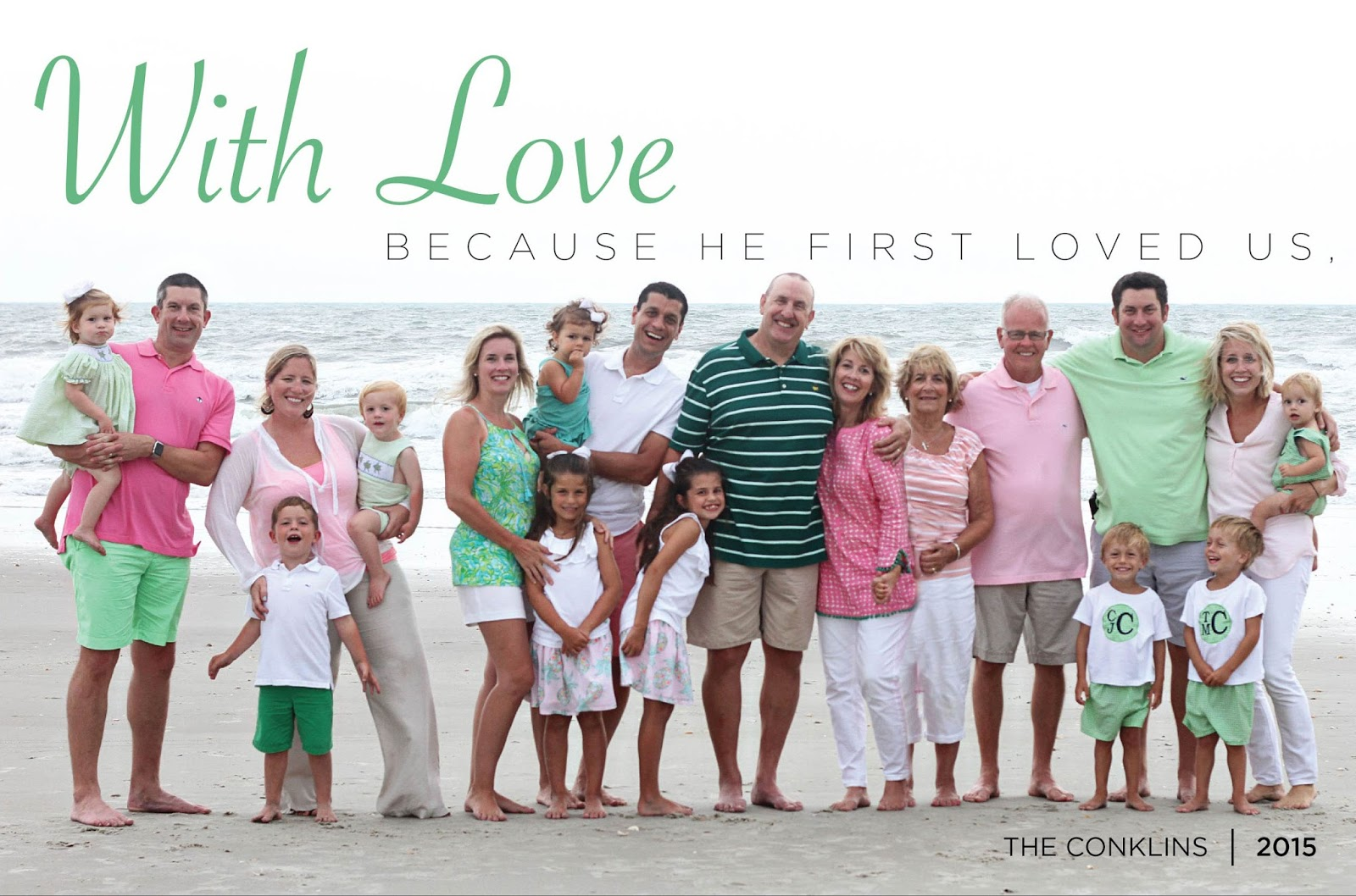 LOVE BEING A NONNY!: Christmas Card Carousel 2015