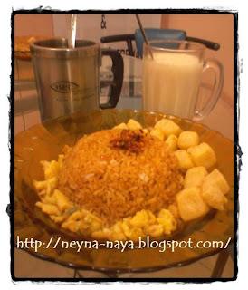 Nasi Goreng Abon Cabe Ala Chef Bundo dan Alqa
