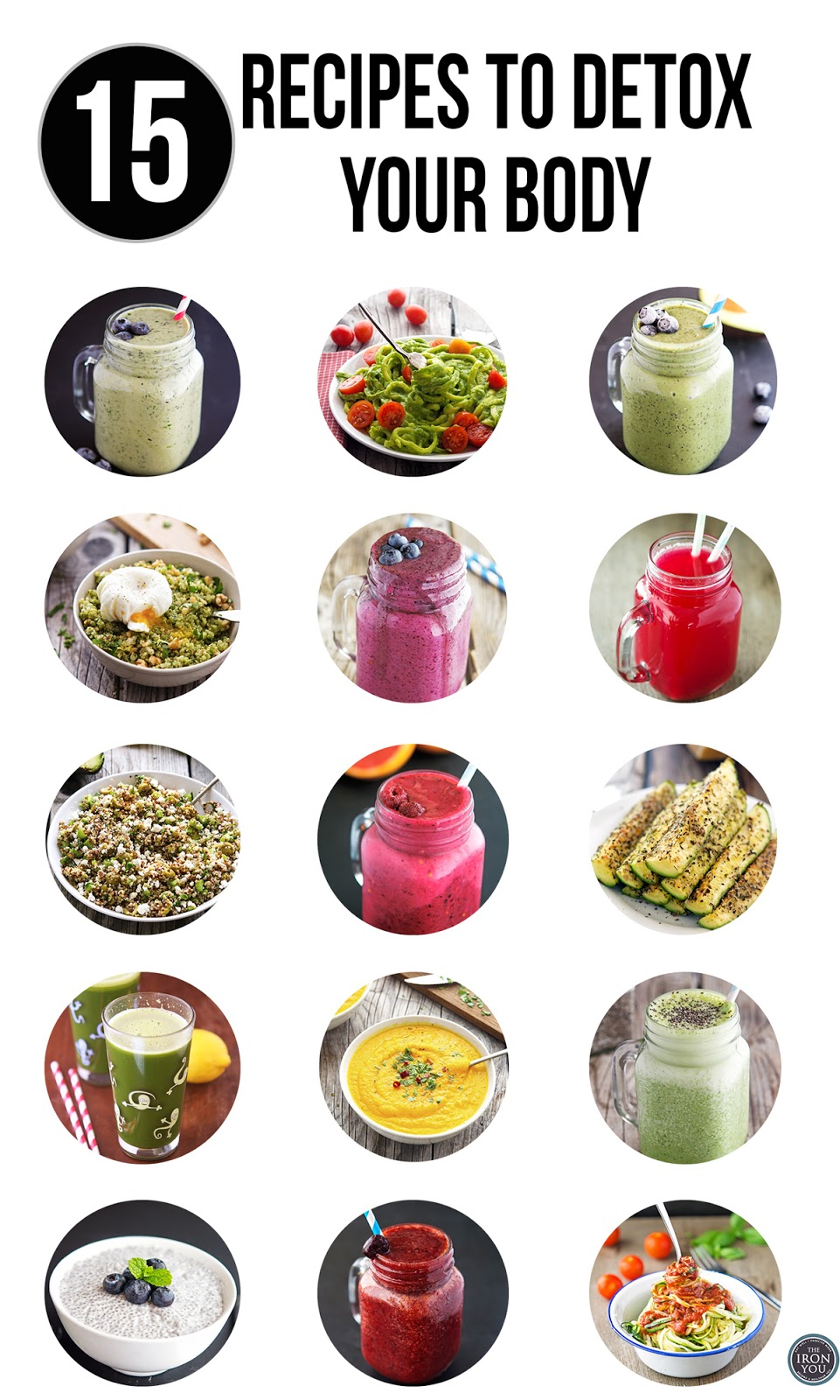 15 Recipes To Detox Your Body