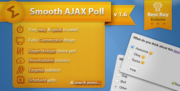 CodeCanyon - Smooth Ajax Poll