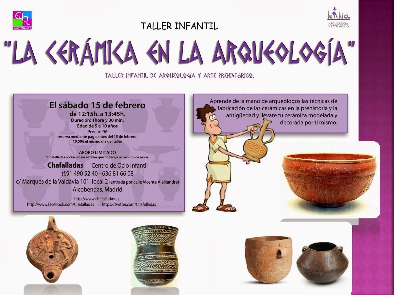 taller de arqueología infantil