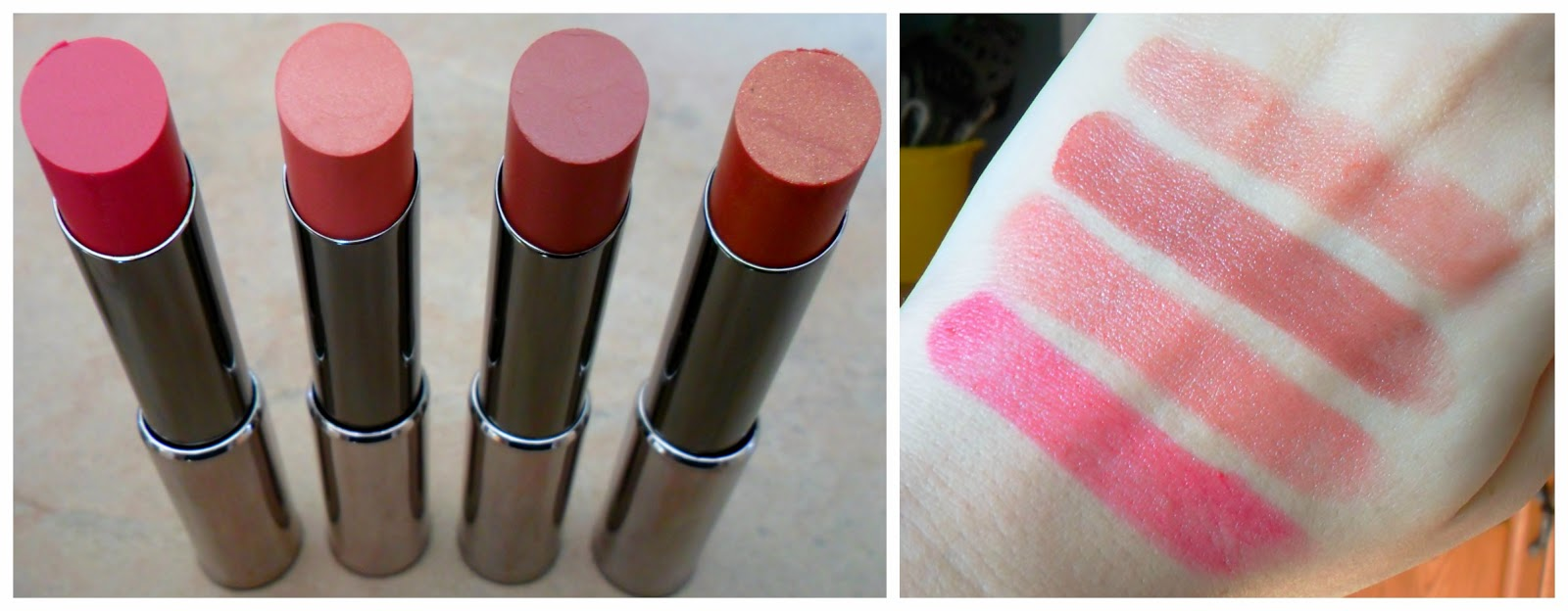 Mary Kay True Dimensions Lipsticks review swatches