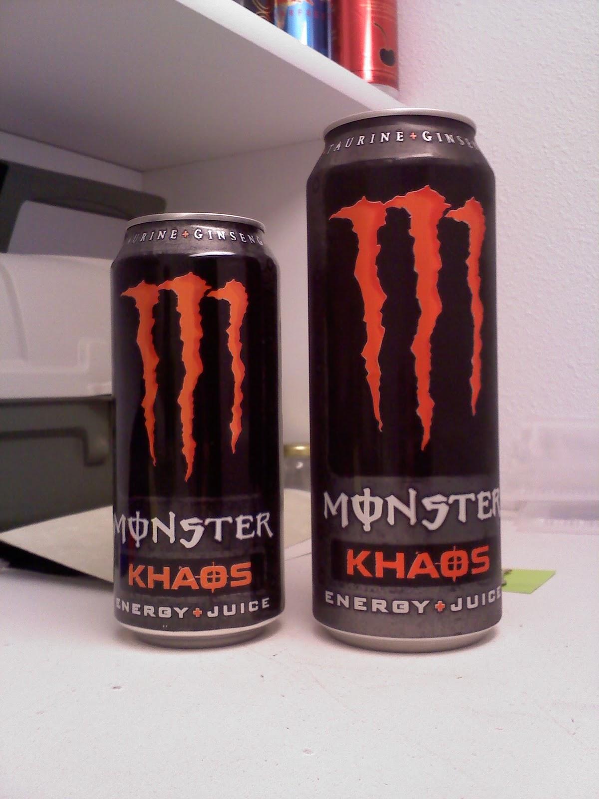 CAFFEINE!: Review for Monster Energy--Khaos