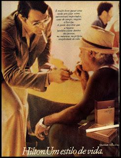 reclame de cigarros anos 70; oswaldo hernandez;