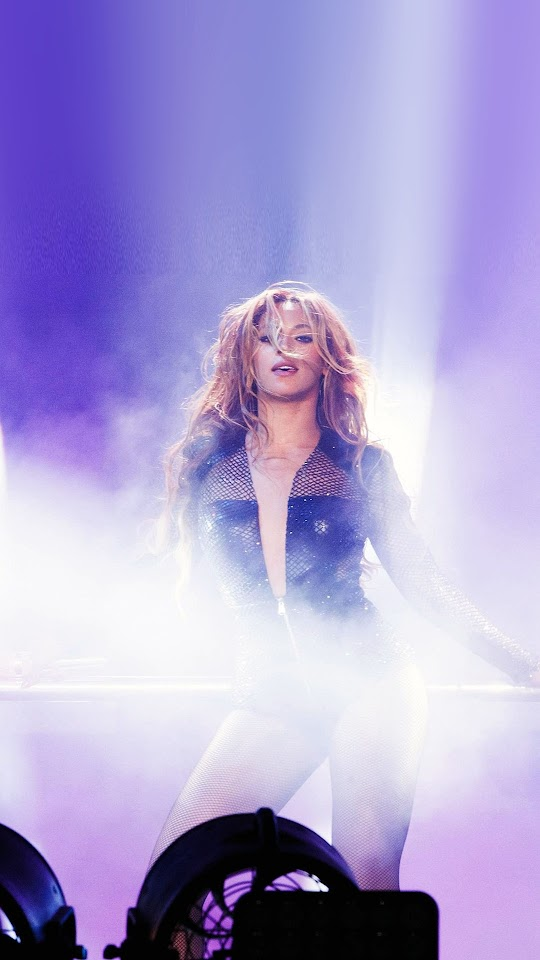 Beyonce Concert Stage Show  Galaxy Note HD Wallpaper