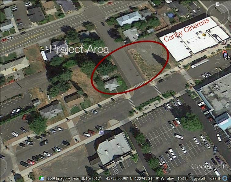 Civic Building Library Project Canby Oregon
