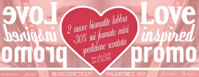 """Neve Cosmetics - Amore & Psiche e offerte """"Love Inspired Promo"""""""