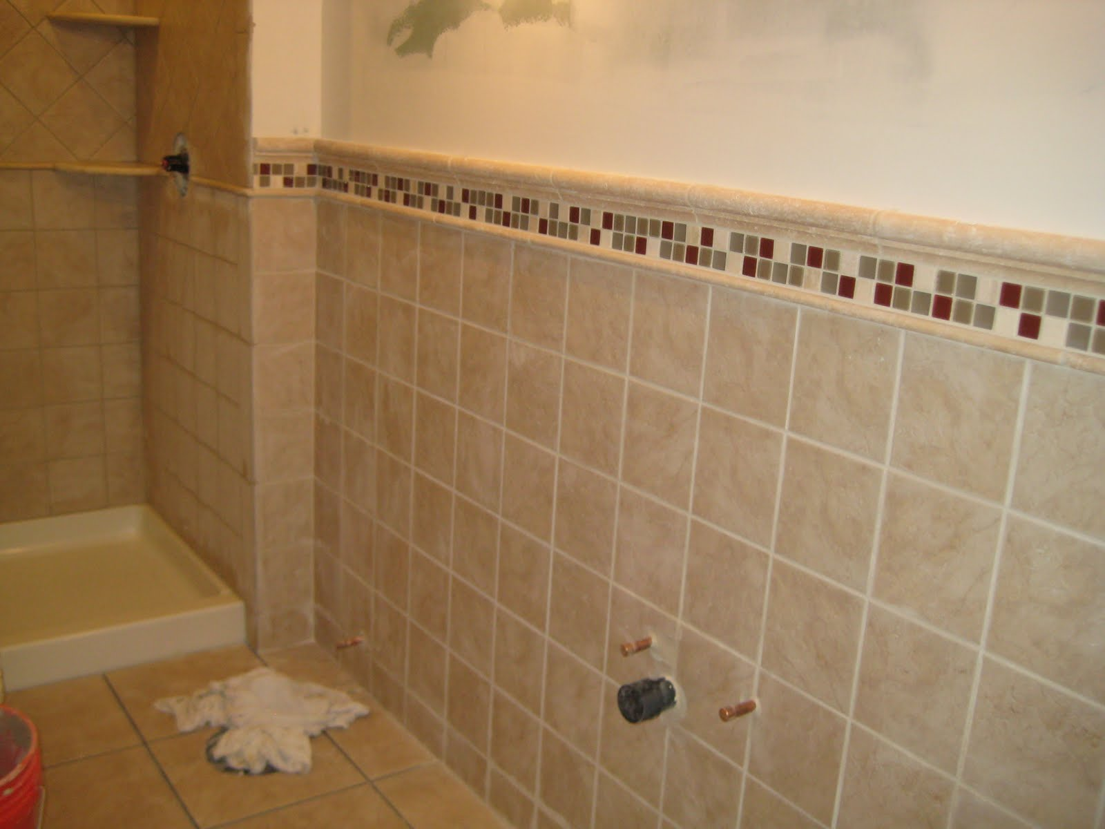 Tile Shower Design Tile Bathroom Shower Remodeling Design And