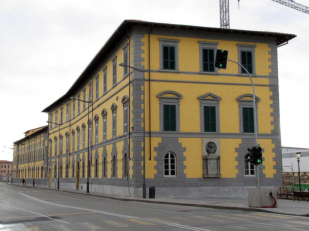 Office building of the former Orlando Shipyard, Livorno