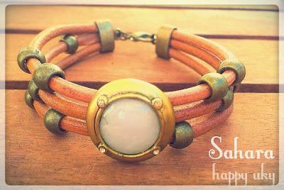 happy uky complementos cuero pulsera bracelets