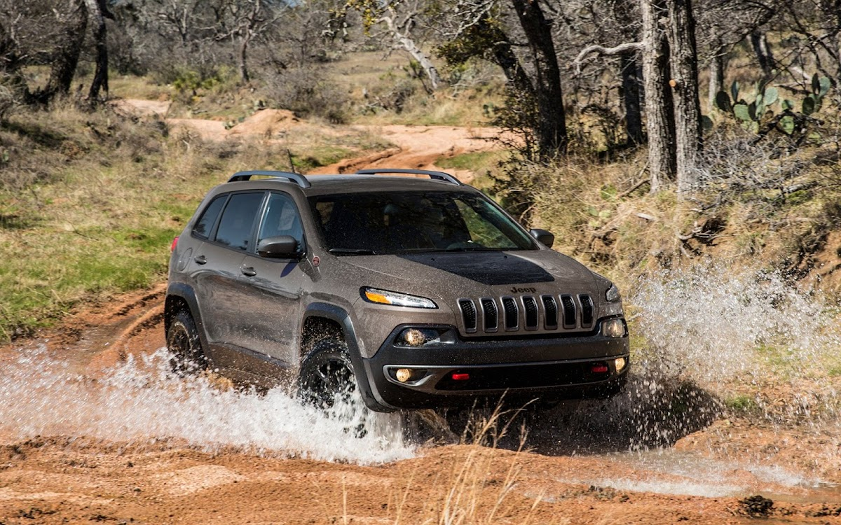 2014 Jeep Cherokee Widescreen HD Wallpaper 3