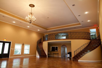 Inside the Reception Hall