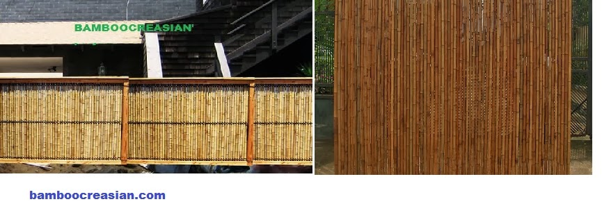 Pole Fence Designs Quality bamboo and asian thatch bamboo fences bamboo poles bamboo fences bamboo poles natural rolled bamboo fencing adron your outdoor living an authentic feel with quality of a natural rolled bamboo fence workwithnaturefo