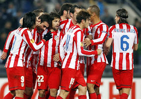 Lazio vs Atletico Madrid.
