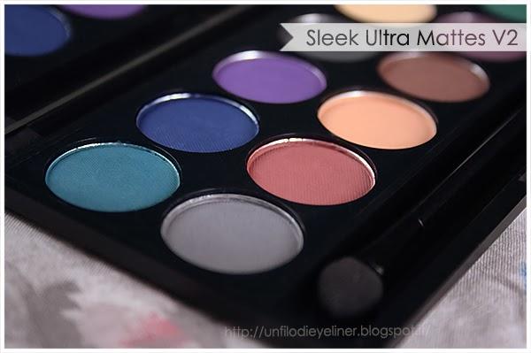 haul sleek palette ultra mattes v2 dark