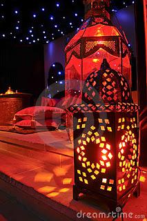 lanterna marroquina decoração