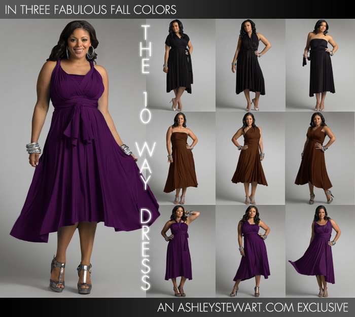 10-Way Dress Ashley Stewart
