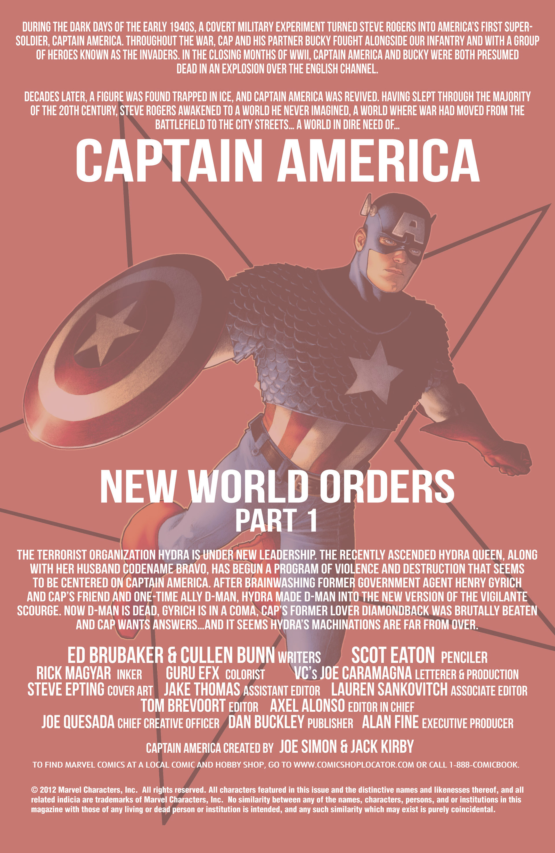 Captain America (2011) Issue #15 #15 - English 2