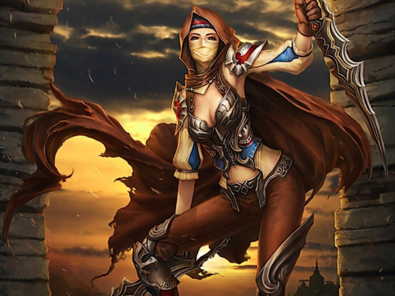 Hd fantasy warrior 10 - Fantasy female warrior artwork ...