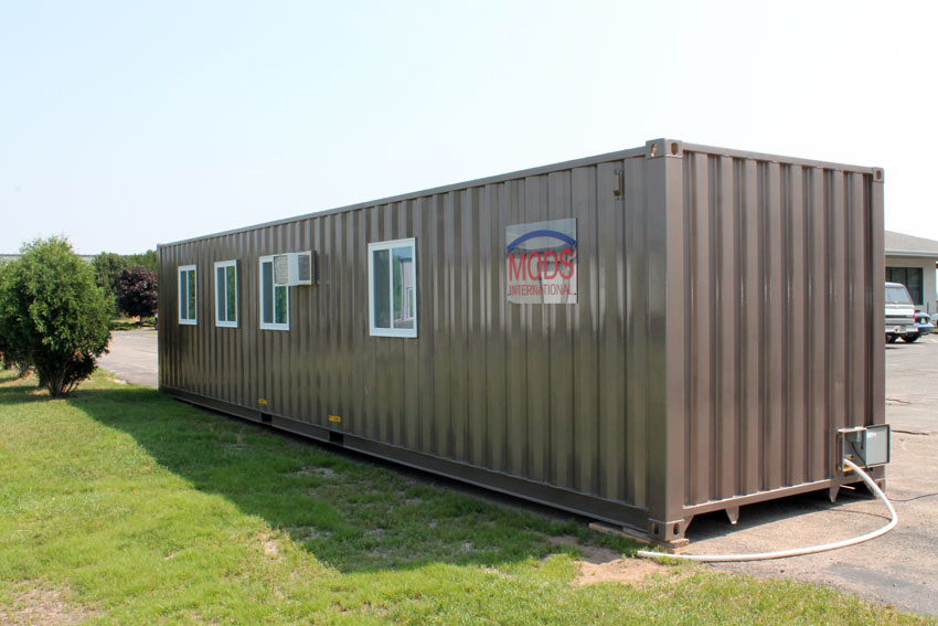 Shipping container homes shipping container modular home for Prefabricated shipping container homes