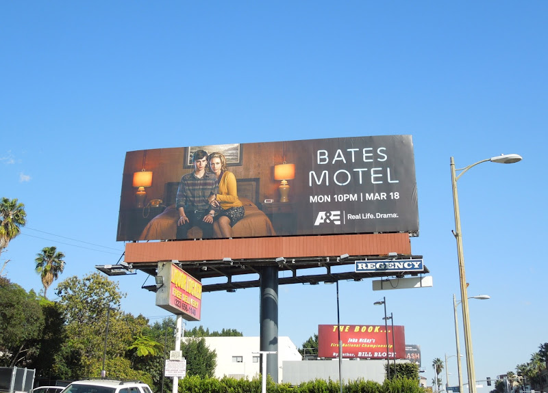 Bates Motel series premiere billboard