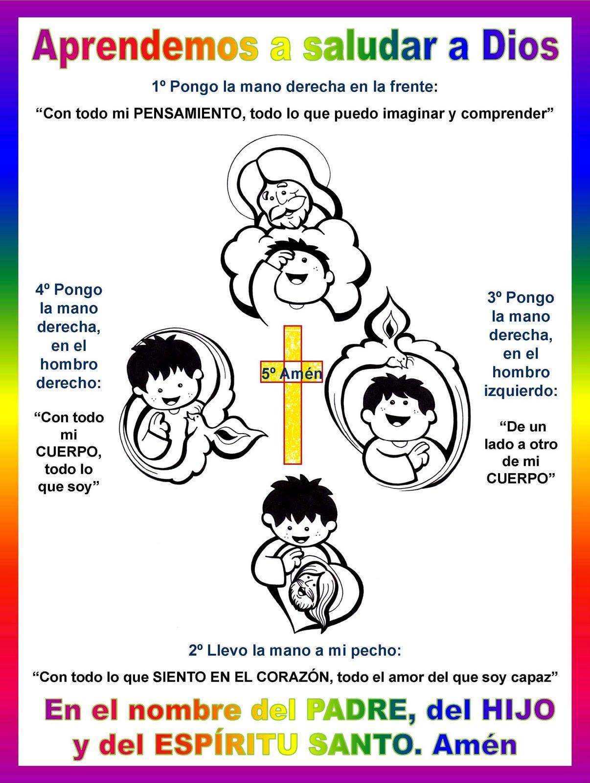 Jesús te llama - Oraciones a la Trinidad para niños