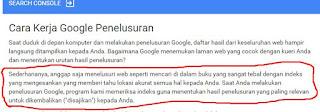 Cara kerja Google ketika menelusuri laman web