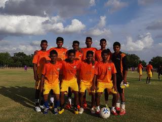 U-20 Team of Rural Development Trust's (RDT) Anantapur Sports Academy (ASA)